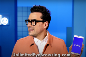 Visible taps Dan Levy in unlimited 'brows-ing' campaign