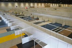 Need to know: Major city exhibition centres become hospitals