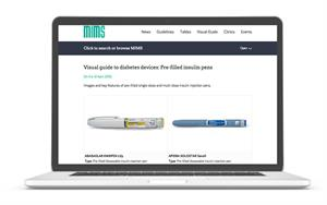 Pictorial guide to diabetes devices now available on MIMS website