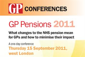 Conference: What changes to the NHS pension will mean for GPs