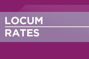 Updated locum rates for 2015 shows rise in fees