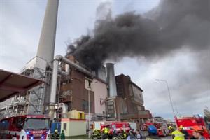 Second major fire within two years hits EfW plant
