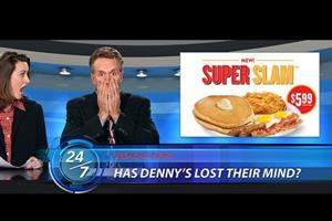 Denny's proves there's life in the old stunt yet