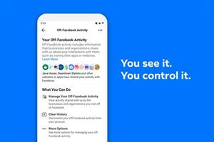 Facebook lets users clear advertising data held by third-party sites