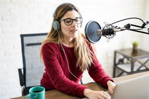 Using podcasts to drive earned media