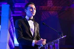 Watch: David Hogg's speech at 2019 PRWeek U.S. Awards