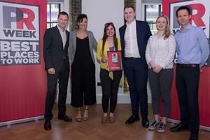 Best Places to Work UK 2018 winners - Large Agency (bronze): Lansons