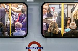 Voluntary mask wearing on the London Underground is low (pic credit: Getty)