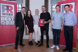 Best Places to Work UK 2018 winners - Mid-Sized Agency (silver): Mischief