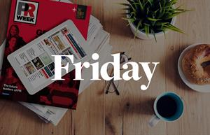 Breakfast Briefing: 5 things for PR pros to know on Friday morning
