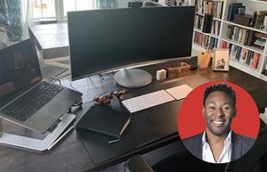 Around the office with Intuit's Derrick Plummer