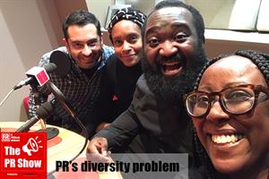 The PR Show podcast: 'A lot of agencies don't care - PR has a lot of racial prejudice'