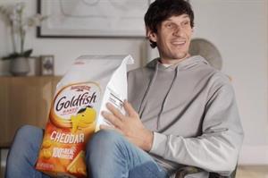 Pepperidge Farm's Goldfish brand challenges NBA players on TikTok