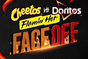 #FlaminHotFaceOff: Frito-Lay wants consumers to choose between Cheetos or Doritos