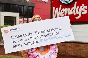 Is it ever a good idea for a brand to pick a fight with Wendy's on Twitter?
