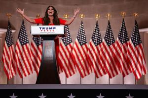 Kimberly Guilfoyle's RNC speech is now a social media challenge