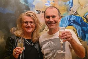 Clare Parsons and Tony Langham