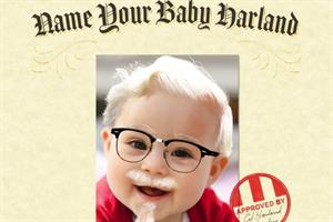 Too integrated? KFC wants you to name your baby Harland