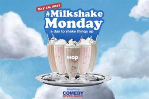All-you-can-drink milkshakes on IHOP, courtesy of Adam Sandler