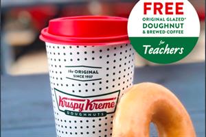 Krispy Kreme gave out 30 million free doughnuts during the pandemic