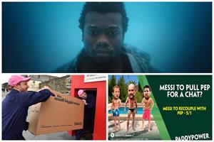 Mocking Messi, tiny sofa, ripping up the rule book - Campaigns roundup