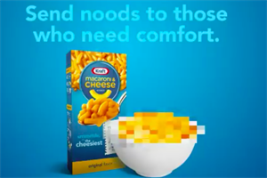 Kraft quickly runs out of free Mac and Cheese with #SendNoods campaign