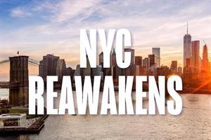 How New York City is promoting its 'reawakening'