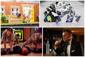 Bond at Lidl, bee retirement home, Samsung maze – Campaigns round-up