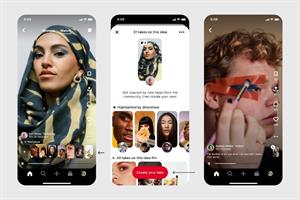 Pinterest launches a bunch of new features for creators