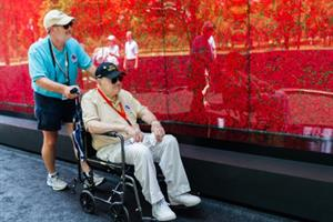 USAA brings pop-up Poppy Memorial to National Mall for Memorial Day