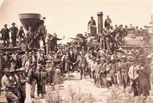 All aboard: Inside Union Pacific's celebration of the transcontinental railroad's 150th anniversary