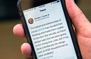How much will Twitter's new policy affect Trump?