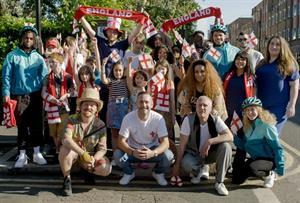 Watch: Deliveroo updates football anthem Vindaloo for Euros