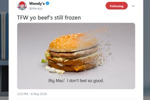 Should McDonald's give Wendy's a taste of its own sassy social media medicine?
