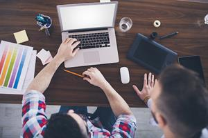Finding the bright side of virtual internships