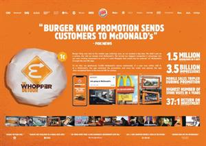 Alison Brod's Burger King work shines on Wednesday winners lists at Cannes
