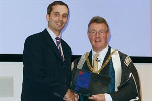 Winner of GP Enterprise Awards honoured by RCGP