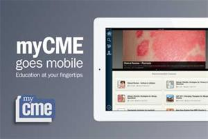 myCME medical education app launched