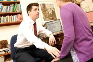 Male GPs' higher suspension risk