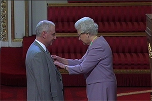 GP leader receives OBE at Buckingham Palace