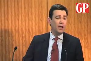 Video: watch Andy Burnham's Labour NHS policy speech in full