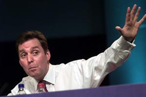 Milburn hits out against 'car crash' NHS