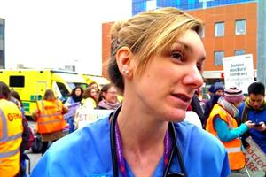 Video: 'We are striking for future GPs'