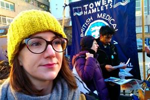 Video: 'Dangerous' contract made junior doctor strike inevitable, says GP trainee