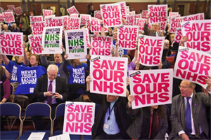 GPs march to parliament to protest against Health Bill