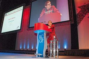Video: GPs should form co-ops with hospital and social services says RCGP chairwoman