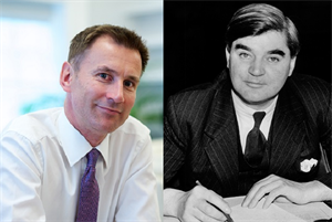 Jeremy Hunt has been health secretary longer than Aneurin Bevan