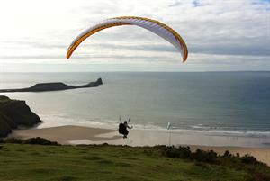 Dr Kate Baker interview: The GP paraglider