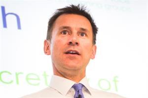 Jeremy Hunt backs CQC naming and shaming GP practices
