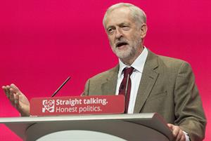 Jeremy Corbyn says mental health is a Labour priority in his first conference address as leader